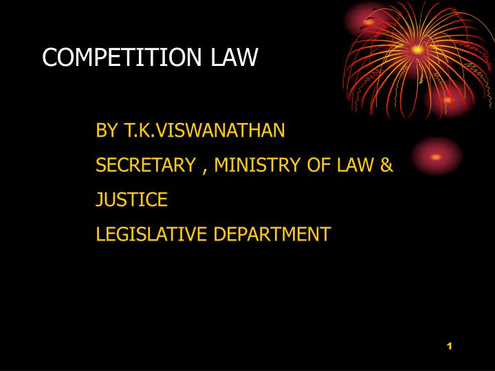competition law n.