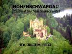 HOHENSCHWANGAU (Castle of the High Swan County)