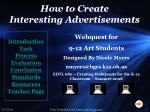 How to Create  Interesting Advertisements