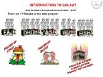 INTRODUCTION TO SALAAT