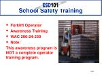 School Safety Training