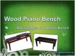 Wood Piano Bench - Advantages of a Wood Bench