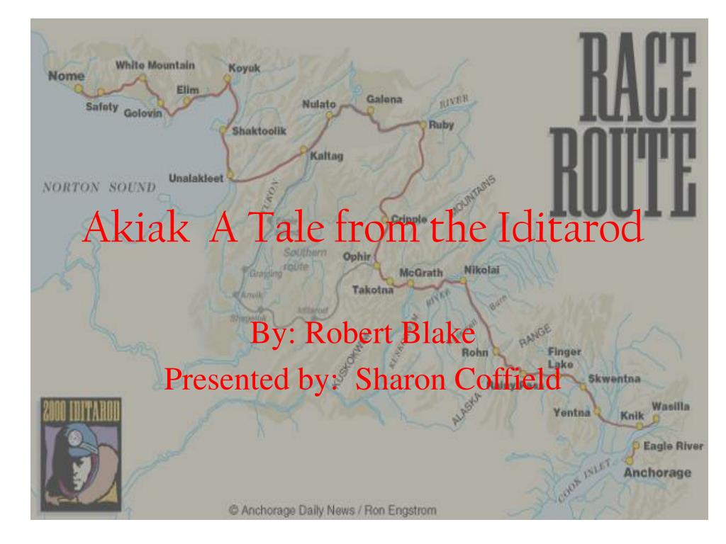 akiak a tale from the iditarod l.