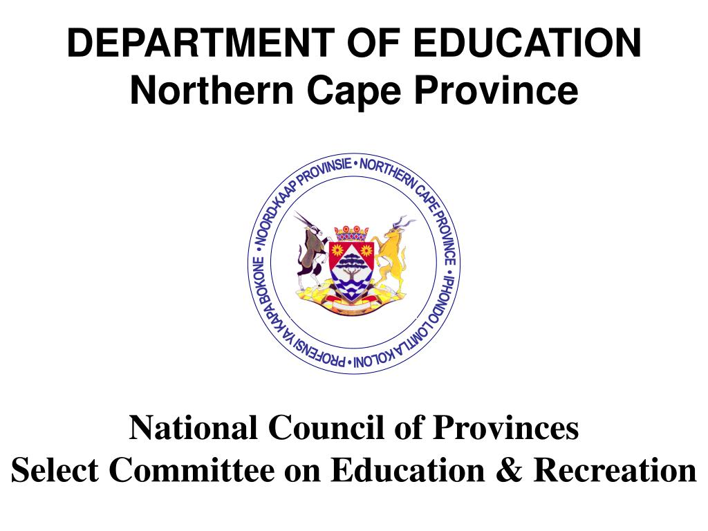 department of education northern cape province l.