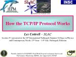 How the TCP/IP Protocol Works