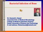 Bacterial Infection of Bone