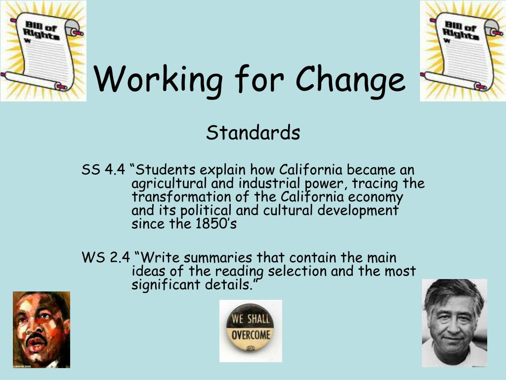 working for change l.