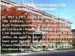HOMMAGE À 100 PERSONNALITÉS FRANCO-ONTARIENNES