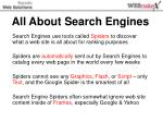 All About Search Engines