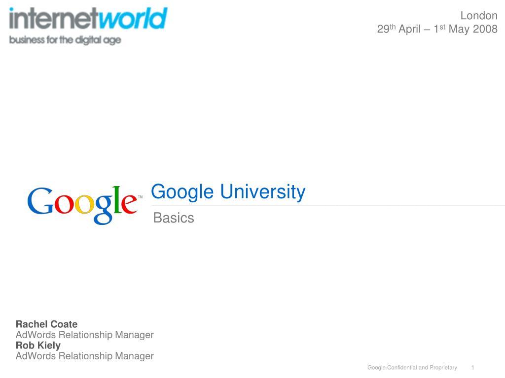 google university l.