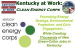 Kentucky at Work: Clean Energy Corps