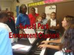 Sunset Park Enrichment Clusters