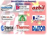 Special Thanks to our Sponsors! 特此感谢以下赞助商!