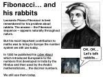 Fibonacci… and his rabbits