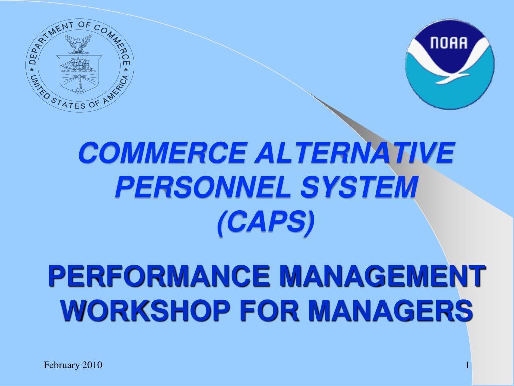performance management workshop for managers l.