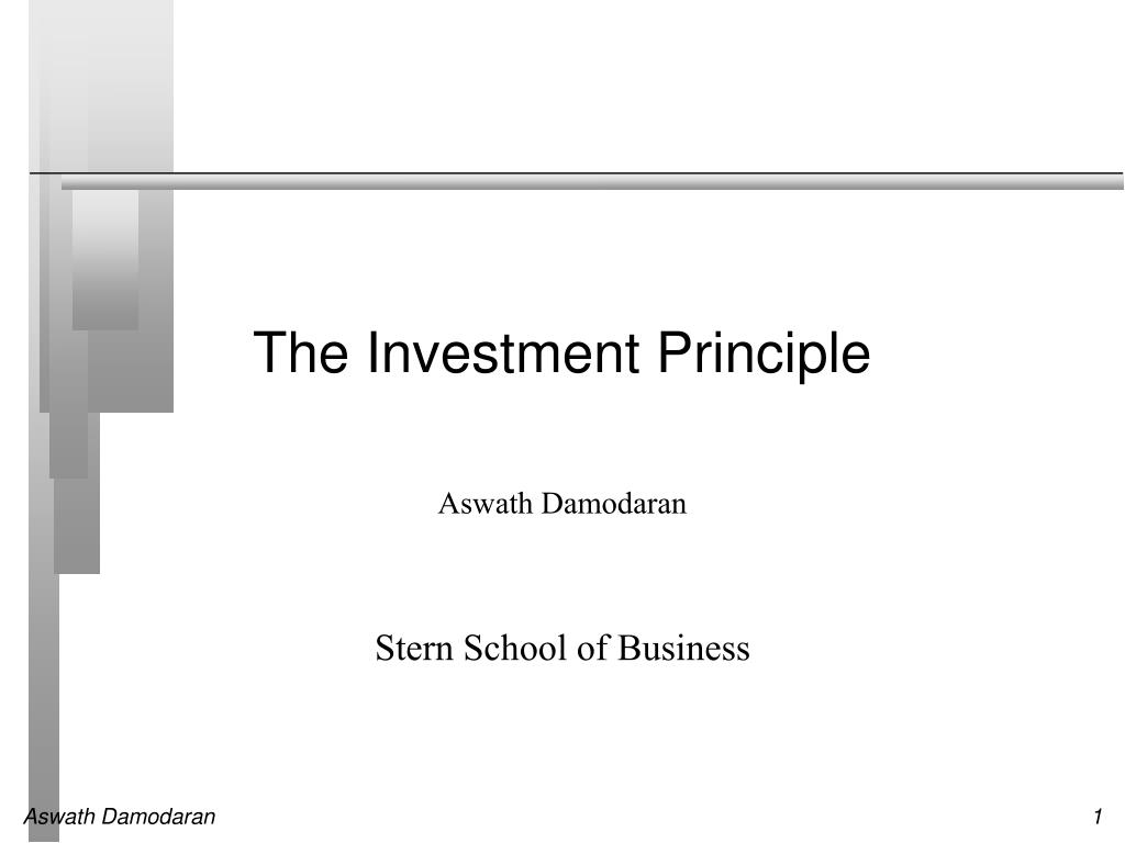 the investment principle l.