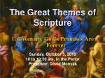 The Great Themes of Scripture
