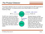 The Product Detector