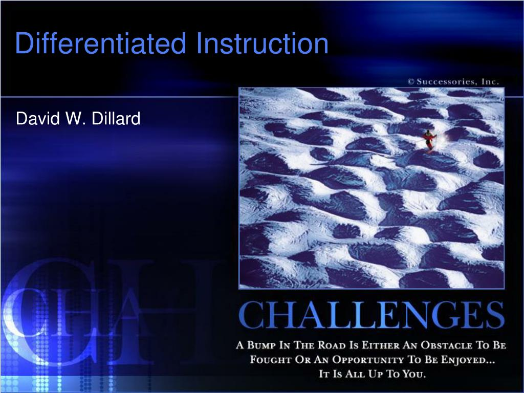 differentiated instruction l.