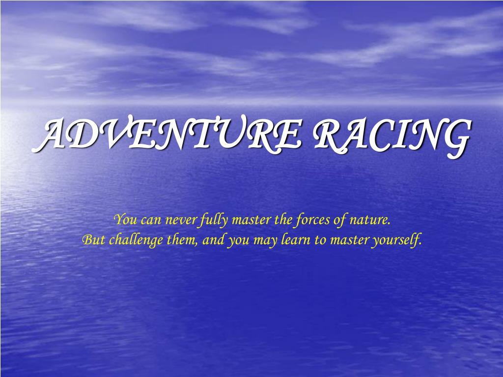 adventure racing l.