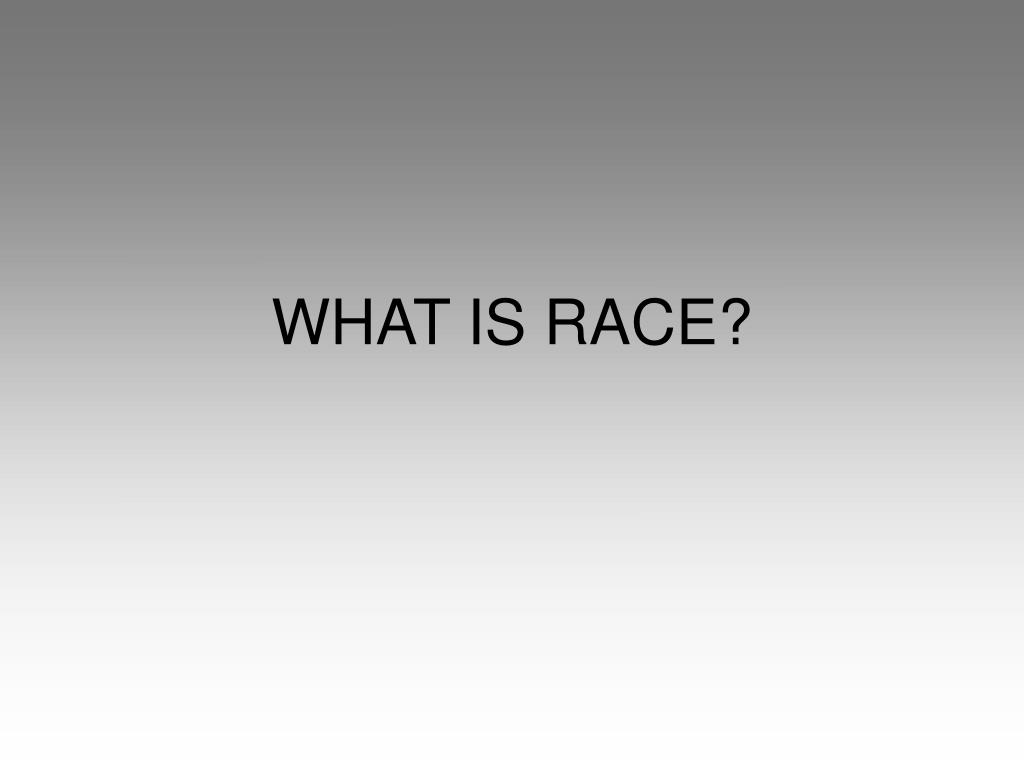 what is race l.