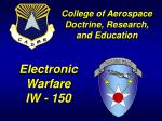 Electronic Warfare IW - 150