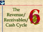The Revenue/ Receivables/Cash Cycle