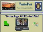 Technology, GLE's And Me!
