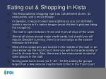Eating out & Shopping in Kista