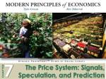 The Price System: Signals, Speculation , and Prediction