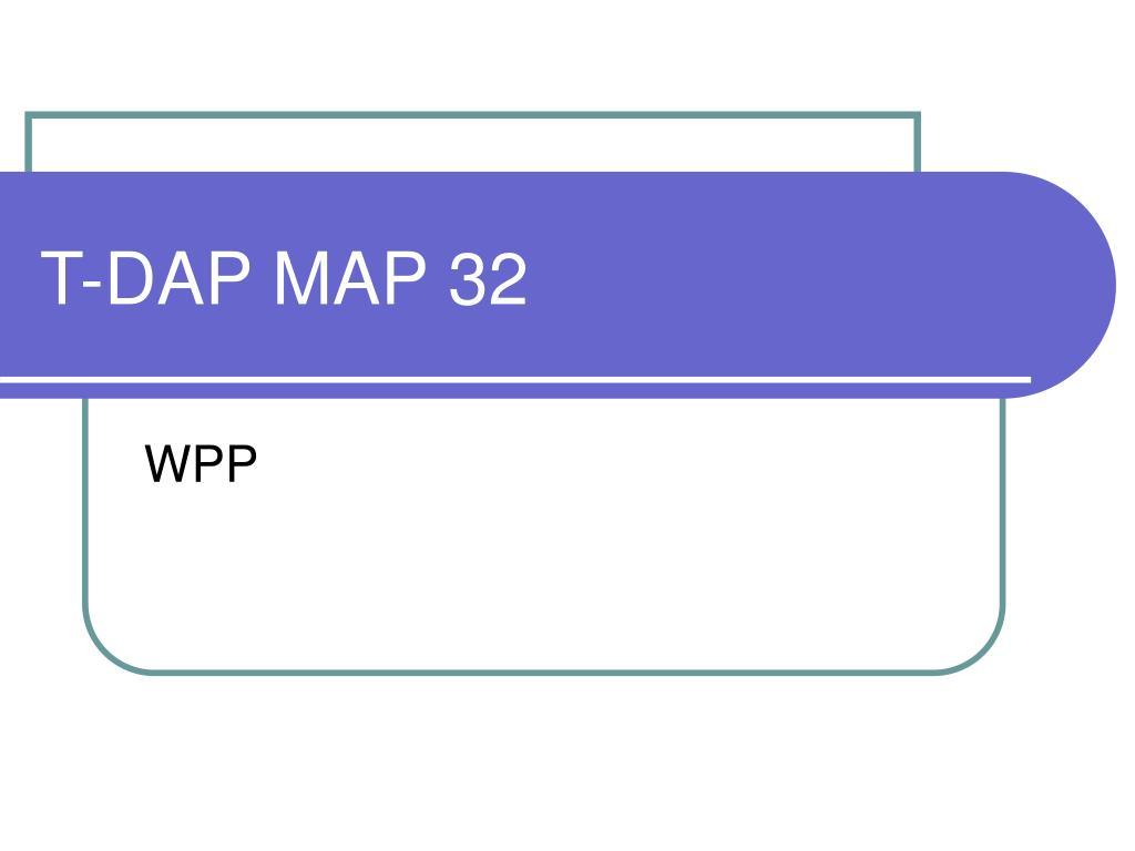 t dap map 32 l.