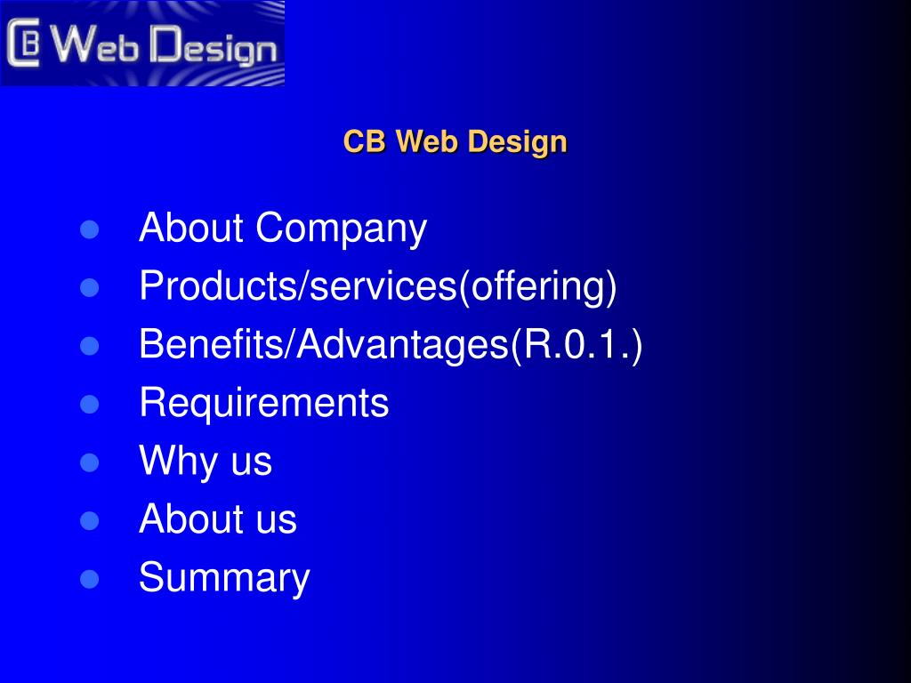 Ppt Cb Web Design Powerpoint Presentation Free Download Id 28430
