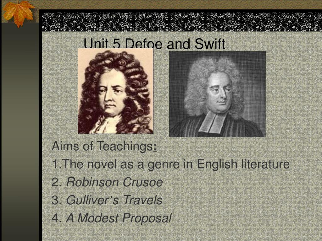 unit 5 defoe and swift l.
