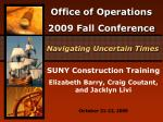 SUNY Construction Training Elizabeth Barry, Craig Coutant, and Jacklyn Livi