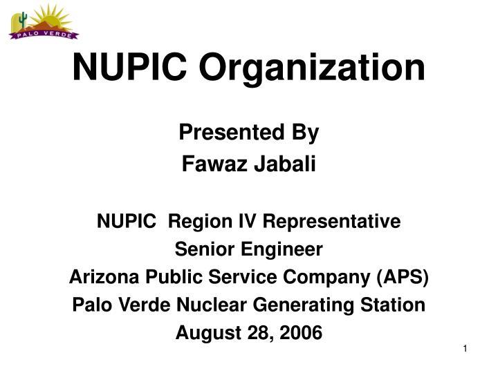 nupic organization n.