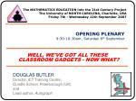 DOUGLAS BUTLER Director, iCT Training Centre, Oundle School, Peterborough (UK) and Lead author,  Autograph
