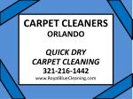 Carpet Cleaners Orlando 321-216-1442 Carpet Cleaning