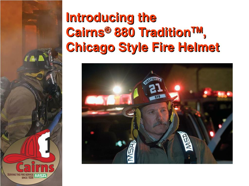 introducing the cairns 880 tradition tm chicago style fire helmet l.