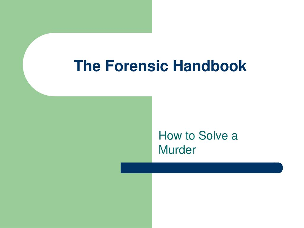 the forensic handbook l.