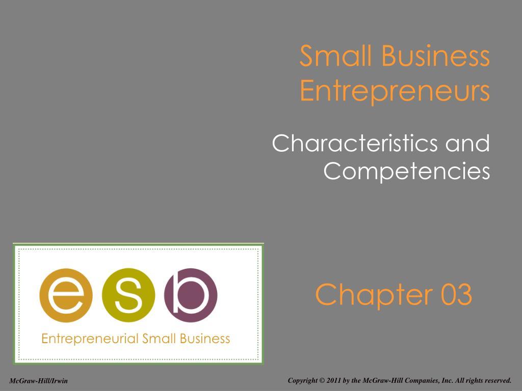 small business entrepreneurs l.