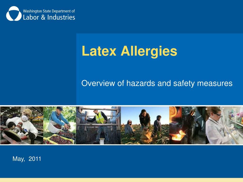latex allergies l.