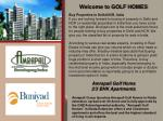 Amrapali Golf Homes Noida Call: Toll Free:- 18001034500