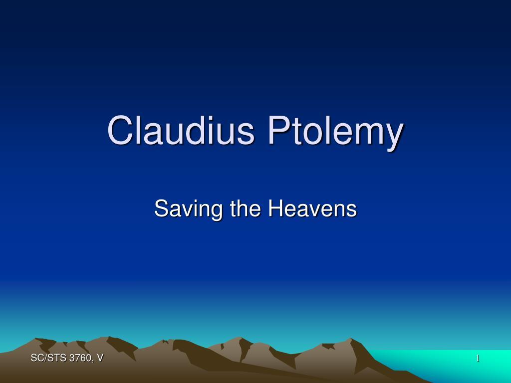 claudius ptolemy l.