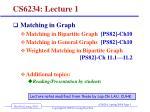 CS6234: Lecture 1