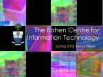 The Bahen Centre for Information Technology