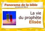 La vie  du prophète  Elisée