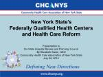 New York State's Federally Qualified Health Centers and Health Care Reform