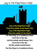 Joy Is The Flag Flown High