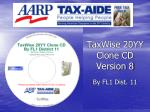 TaxWise 20YY Clone CD Version 8