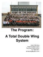 Jason Mensing Head Football Coach  Tecumseh High School 517-862-9511 wmensing@yahoo